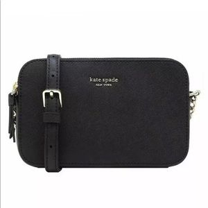 NWT Kate Spade Double ZIP Crossbody Bag